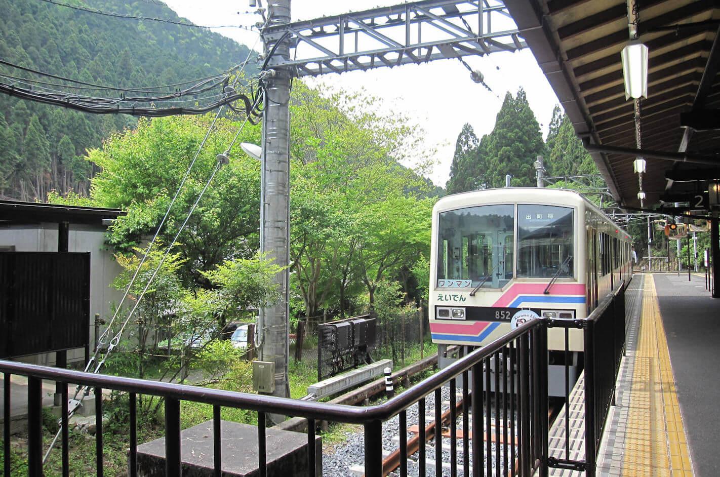 叡山電鉄の電車