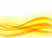 オレンジ色の明るいエネルギーの波動