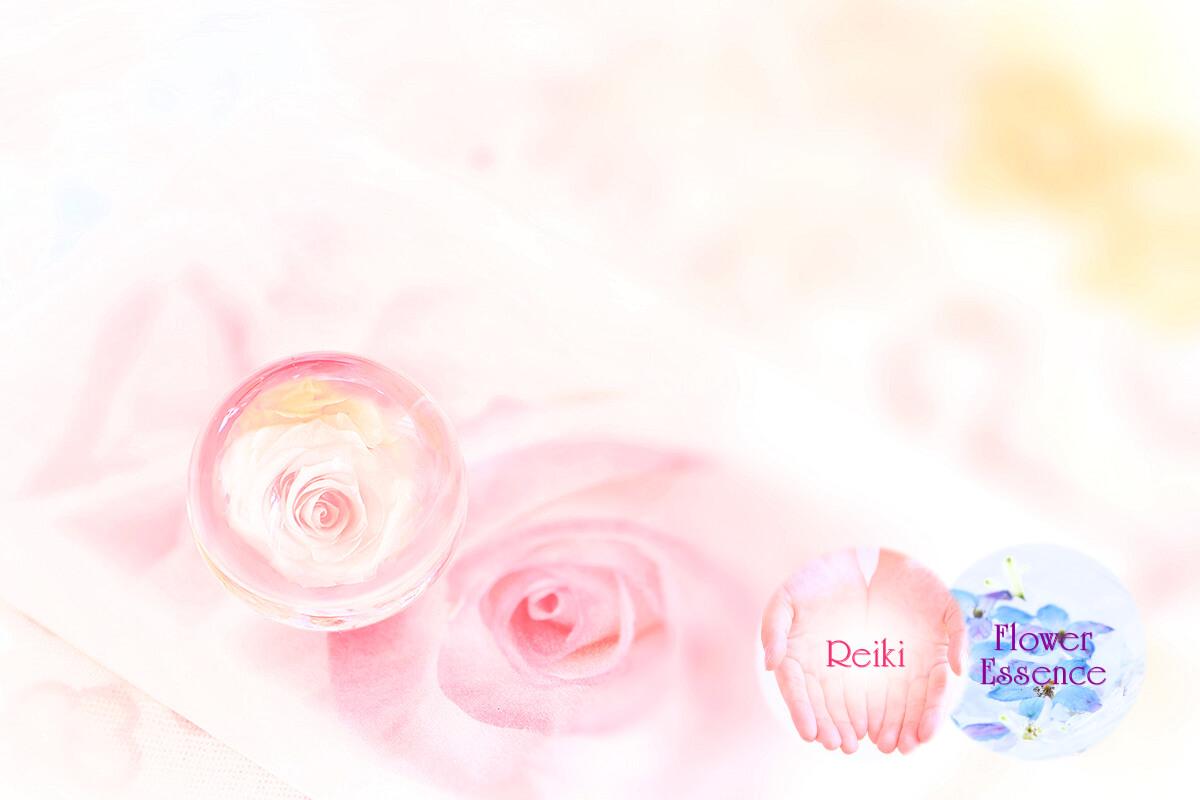 癒しのお花とクリスタル