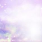 神聖な紫色の光