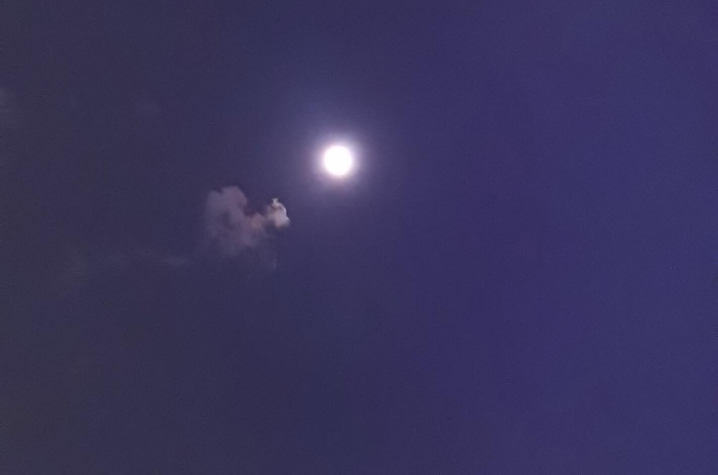 蠍座の満月(フルムーン)2020年5月7日夜