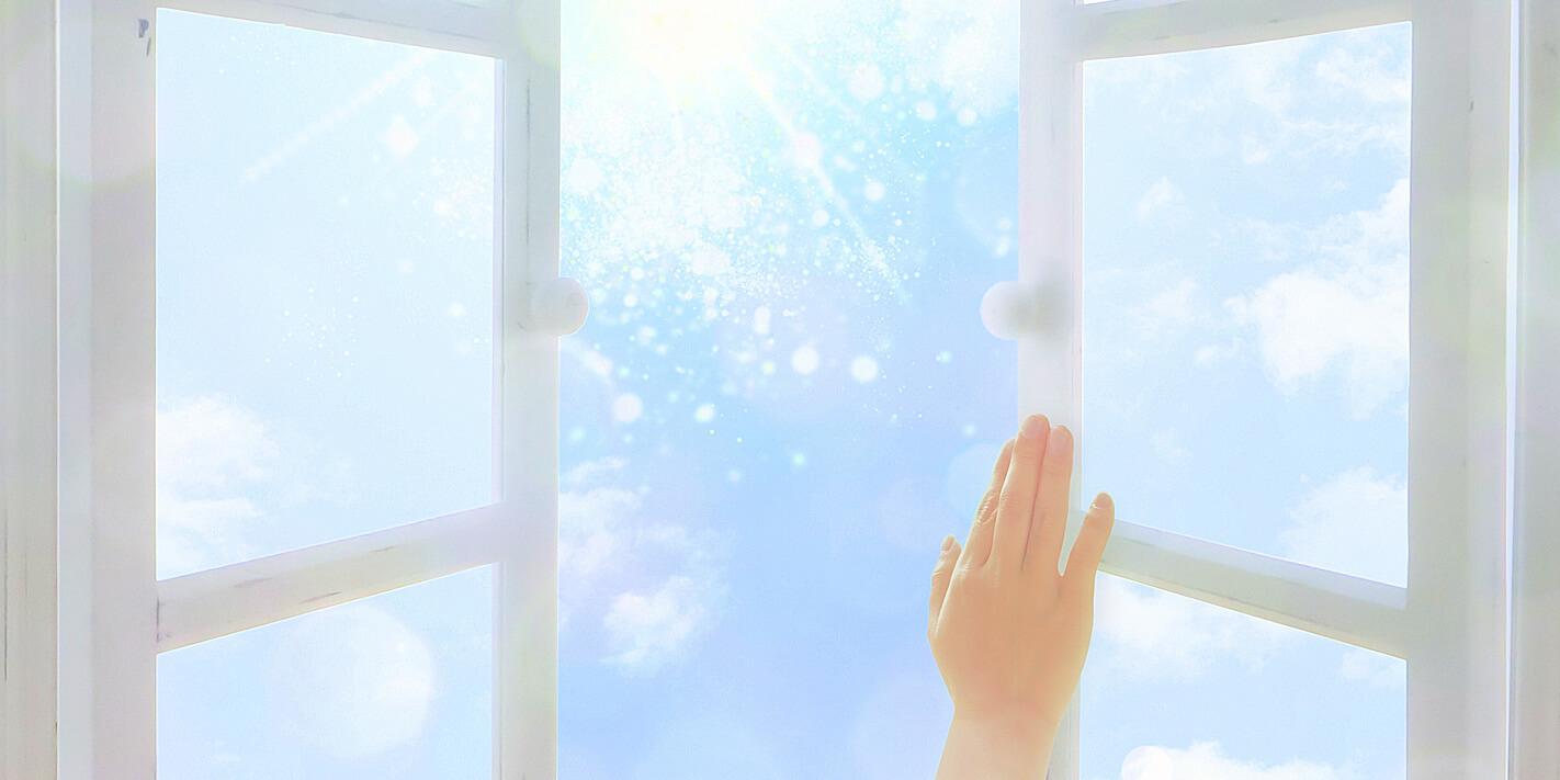 あなたの未来の扉を開ける手