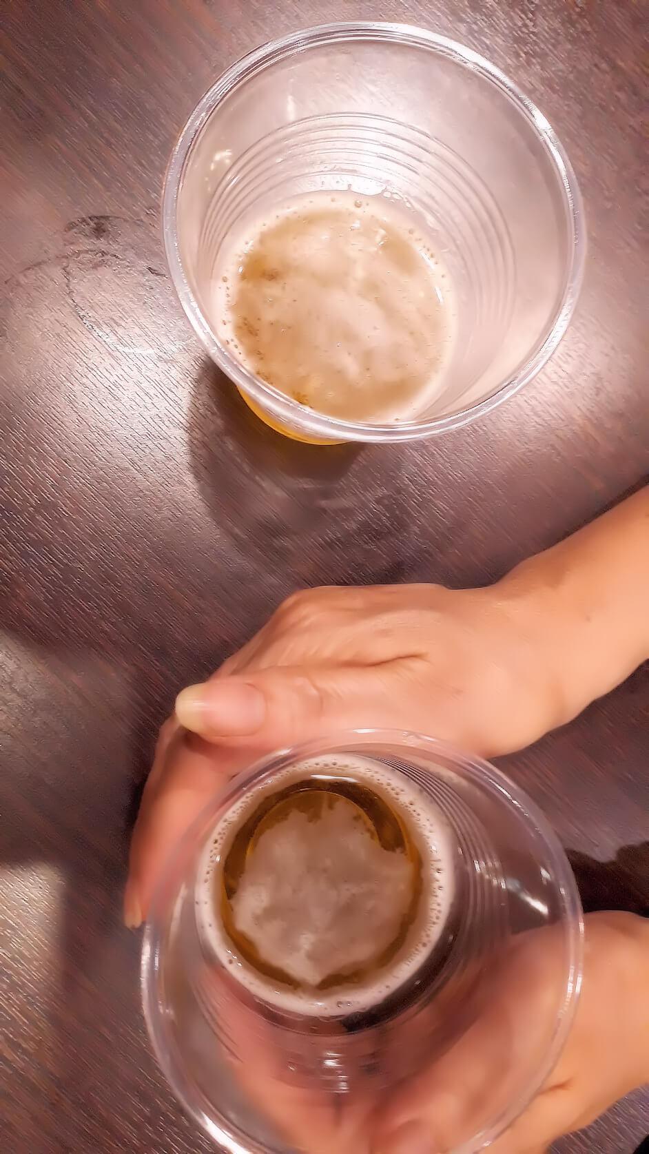 レイキの実験|ビール篇(ヒーリング中-3)
