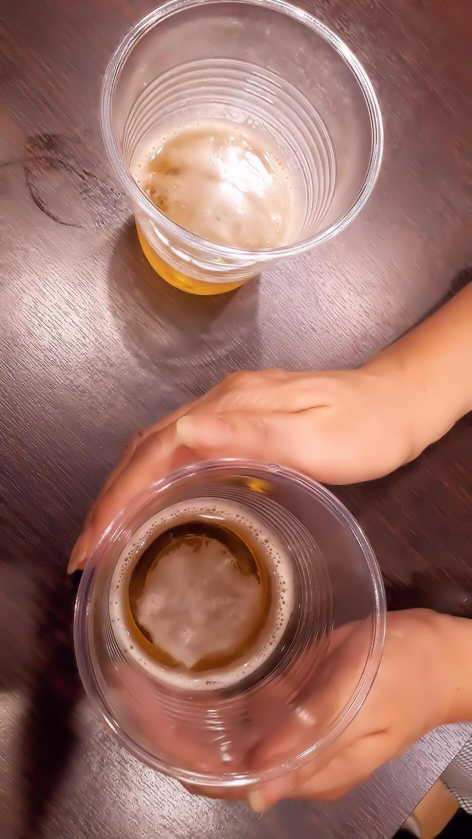 レイキの実験|ビール篇(ヒーリング中-4)