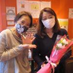 レイキ受講生Nさんと講師の上西純子