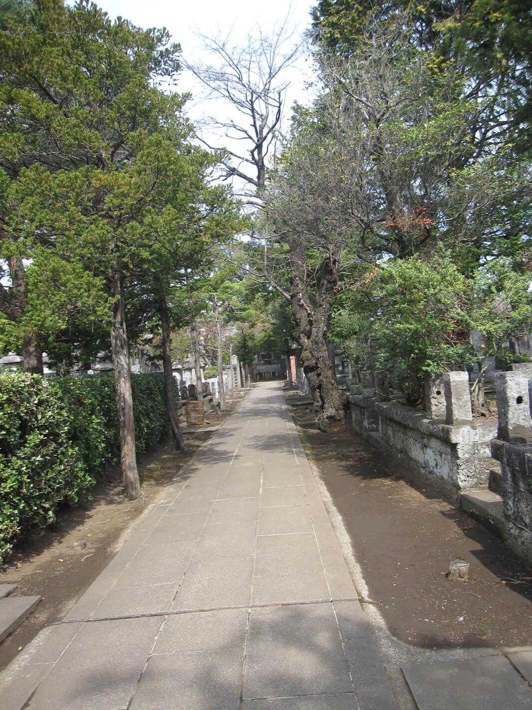 西方寺(参道)